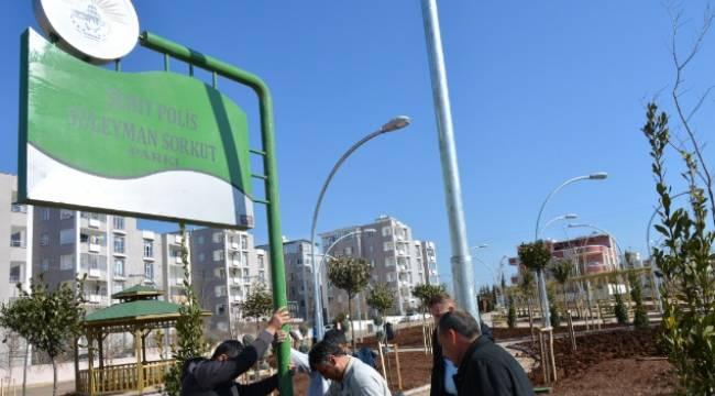 Şehit Polis Süleyman Sorkut ismi Siverek'te yaşıyor