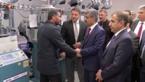 SGK Başkanı Bağlı, fabrika işçileriyle bir araya geldi