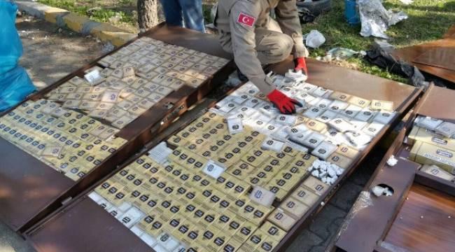 Sigara kaçakçılarının yeni metodu