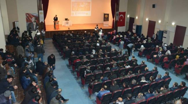 Siverek'te Ümmet'in şehitleri konulu konferans