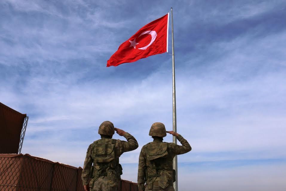 Suriye Sınırına İkinci Dev Türk Bayrağı dikildi-Videolu Haber