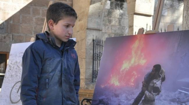 Urfa'da Burası Halep adlı fotoğraf sergisi