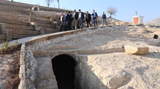 Urfa Kale Eteği Restorasyonunda son gelindi-Videolu Haber