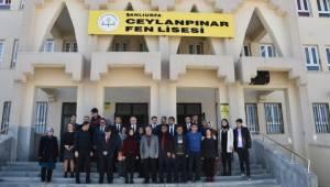Vali Tuna Ceylanpınar Fen Lisesi Öğrencilerini ziyaret etti