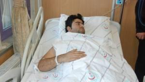 Viranşehir'de yaralanan vatandaş Patlama anını anlattı