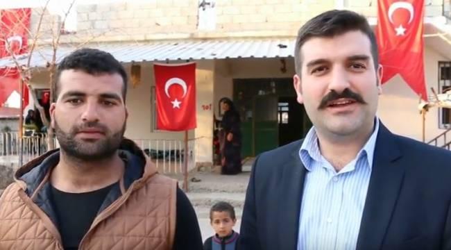 Yosunkaya Urfalı El Bab gazisini ziyaret etti-Videolu Haber