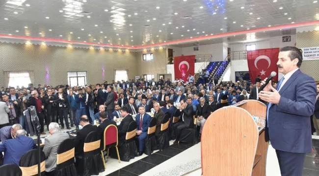 Bakan Çelik, Viranşehir'e 5 Milyar TL'lik yatırım yaptık-Videolu Haber