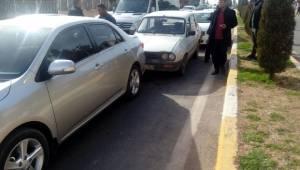 Haliliye'de zincirleme kaza