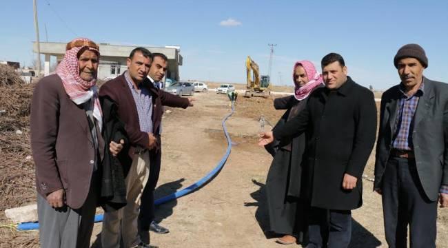 Harran'da 1 mahallenin daha su sorunu çözülüyor-Video
