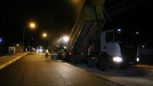 Mesire Alanı Yolu 1 gecede asfaltlandı-Videolu Haber