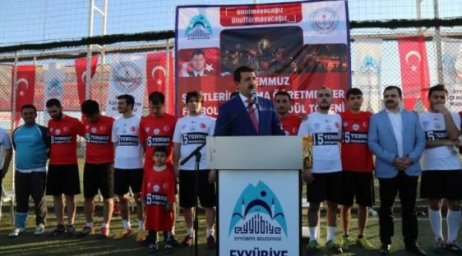 Öğretmenlerarası Futbol Turnuvası sona erdi