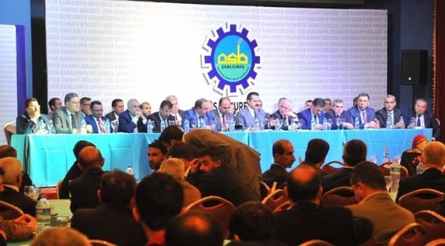 OSB buluşmasında Şanlıurfa'nın sorunları masaya yatırıldı