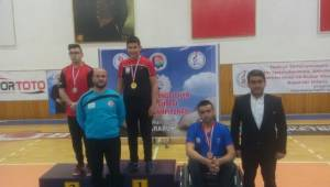 Şanlıurfalı sporcu, Türkiye şampiyonu oldu