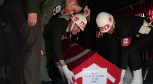 Şehit Koroç'un cenazesi Şanlıurfa'ya Getirildi