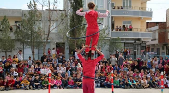 Sosyal Sirk Harran'a Geliyor