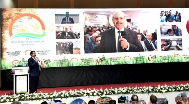 Tarımsal Eğitim Seferberliği Şanlıurfa'dan başlatıldı