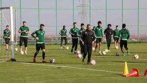 Urfaspor Mersin maçı hazırlıkların devam ediyor