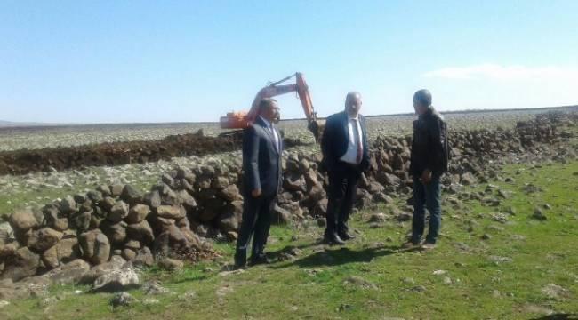 Viranşehir'de kırsalda hizmet seferberliği başlattı