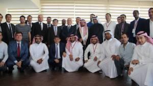 Arap iş adamları Urfa'da yatırım için incelemelerde bulundu