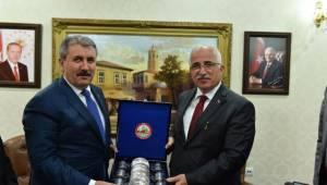BBP Genel Başkanı Destici Şanlıurfa Valiliğini ziyaret etti