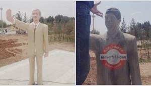 Hafız Esad'a benzetilen heykel düzeltiliyor