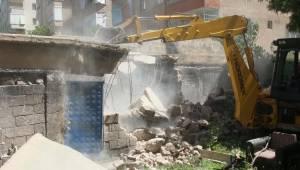 Haliliye'de Riskli Yapı Yıkıldı-Videolu Haber