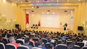 Harran Üniversitesinde medya ve ekran bağımlılığı semineri