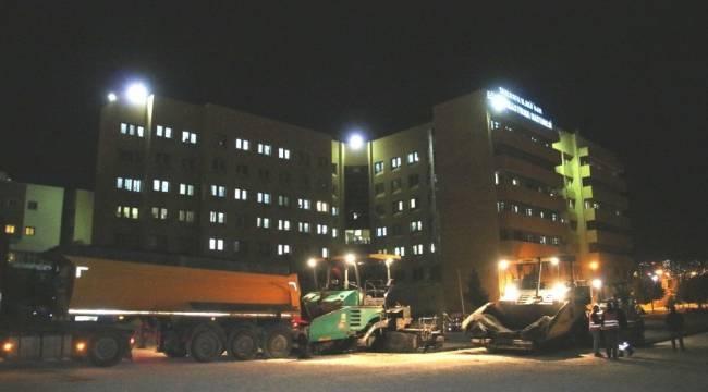 Hastanenin 600 Araçlık otoparkı tamamlandı