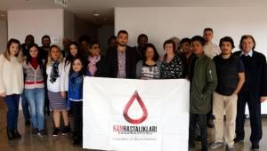 Kan Hastalıkları Federasyonu üyeleri Hollanda'da