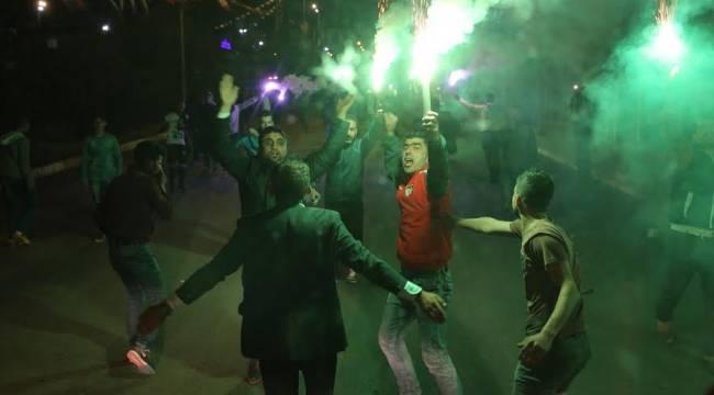Karaköprüspor'a çoşkulu karşılama-Videolu Haber
