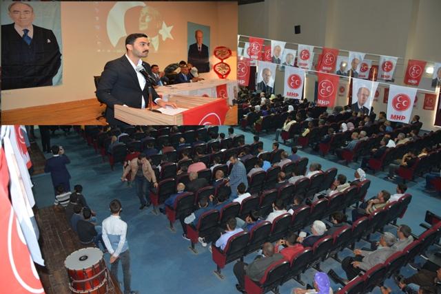 MHP Siverek'te Fettahlı güven tazeledi
