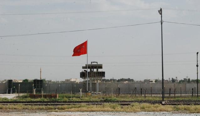 Şanlıurfa sınırında PYD Bayrağı indirilecek