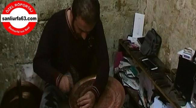 Urfa'da Bakırcılık yok olmaya yüz tutuyor