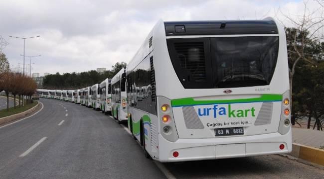 Şanlıurfa'da Otobüsler Ücretsiz Hizmet Verecek
