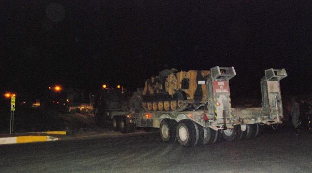 Zırhlı araçlar Şanlıurfa'ya geliyor