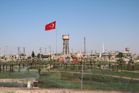 Akçakale kent parkı tamamlandı