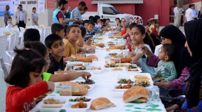 Ceylanpınar'da ramazan coşkusu 2 gün Ceylan Okulundaydı
