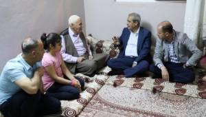 Demirkol, şehit ailesini ziyaret etti