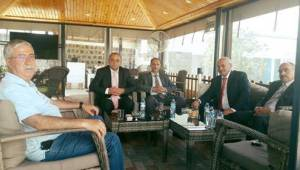 Demokrat Parti Şanlıurfa'dan Sedat Bucak'a Ziyaret