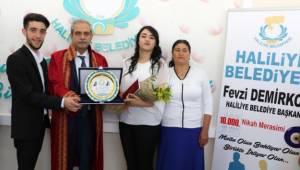 Haliliye Belediyesi 10 Bininci Nikahı Kıydı-Videolu Haber