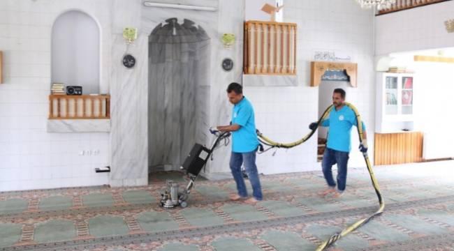 Haliliye'deki İbadethaneler Ramazan'a hazırlanıyor-Videolu Haber