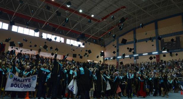 İktisat Fakültesinde mezuniyet heyecanı-Videolu Haber