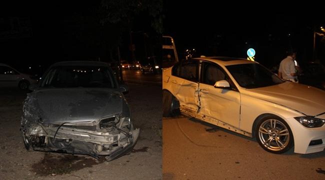 Karaköprü'de Kaza 3 Yaralı