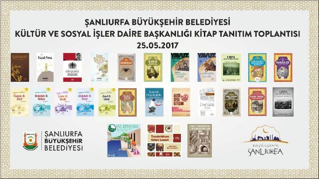 Şanlıurfa Büyükşehir Belediyesi 71 Kitabın tanıtımını yapacak