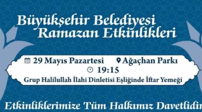 Şanlıurfa Büyükşehir Belediyesinden İftara davet