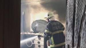 Şanlıurfa'da ateşle oynayan çocuklar evi yaktı-Videolu Haber
