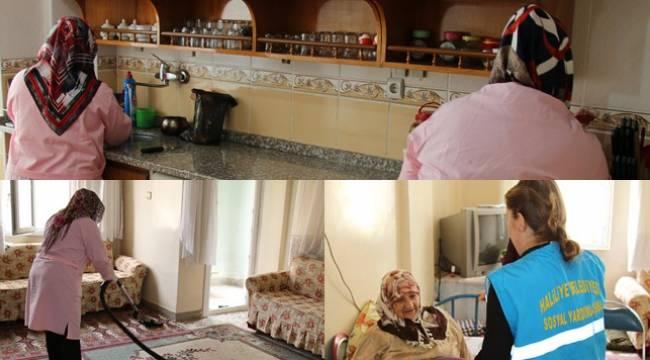 Şanlıurfa'da ihtiyaç sahiplerine örnek yardım
