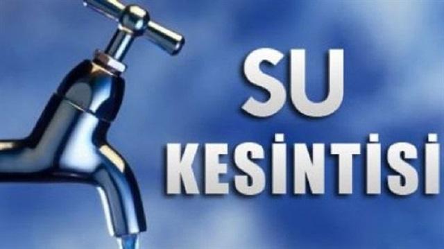 Şanlıurfa'da su kesintileri yaşanacak