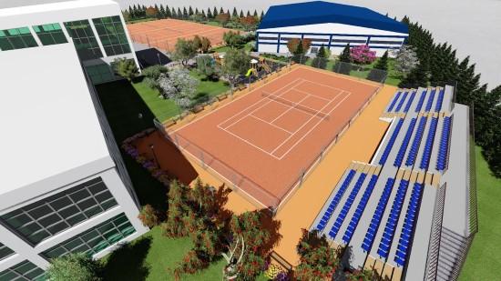 Şanlıurfa'ya tenis dünyası yapılıyor