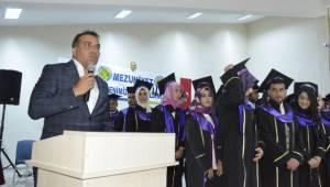 Siverek Meslek Yüksekokulunda 75 Öğrenci Kep attı
